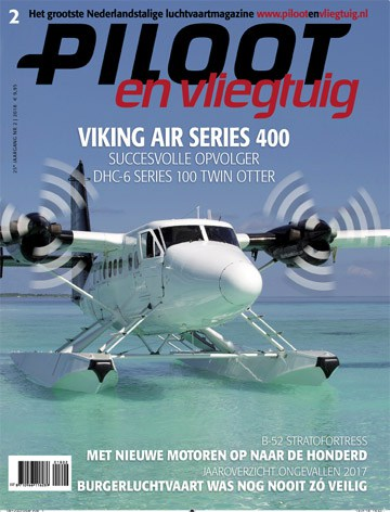 Cover Piloot en Vliegtuig Editie 2-2018