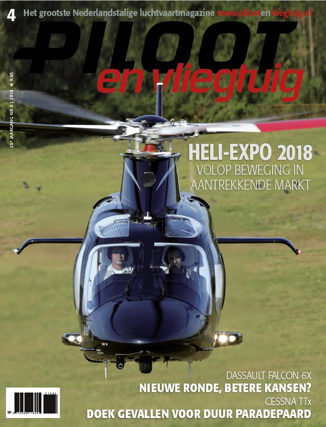 Cover Piloot en Vliegtuig Editie 4-2018