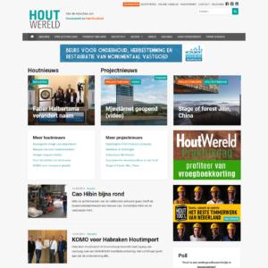 Nieuwe website Houtwereld.nl live